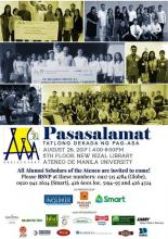 30th Anniversary of the Ateneo Alumni Scholars Association