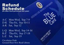 Blue Card Refund