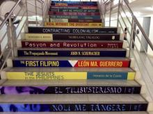 The Rizal Library's Steps